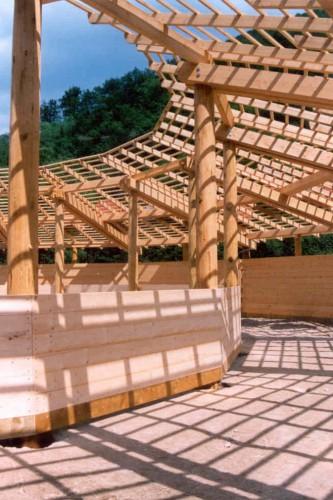 Schwerpunkt Bauprojekte: Holzbau Projektübersicht