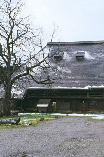 Projektbild Restaurierung des historischen Buehlhofs in Guetenbach, Schwarzwald mit Link zur Projektseite