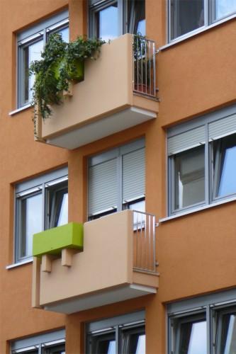Projektbild Sanierung eines Wohn- und Geschaeftshauses in Karlsruhe mit Link zur Projektseite