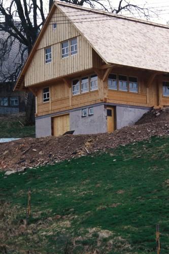 Projektbild Neubau eines Libdings beim Hansenhof in Furtwangen-Linach mit Link zur Projektseite