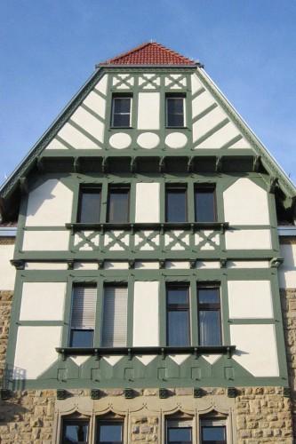 Projektbild Sanierung eines denkmalgeschützten Mehrfamilienwohnhauses in Karlsruhe mit Link zur Projektseite