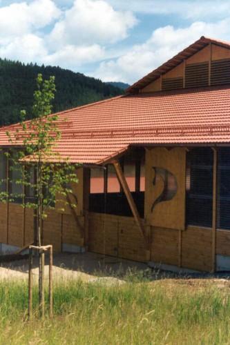 Projektbild Neubau einer Reithalle beim Lunzenhof in Zell am Harmersbach mit Link zur Projektseite