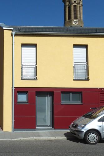 Projektbild Neubau eines Wohnhauses in Forst bei Bruchsal mit Link zur Projektseite, KfW-Effizienzhaus 70