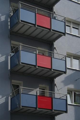 Projektbild Sanierung eines Wohn- und Geschaeftshauses in Karlsruhe mit Link zur Projektseite, Neubaustandard