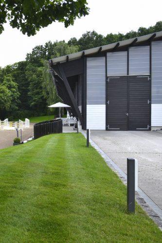 Projektbild Neubau einer Reitanlage in Coburg mit Link zur Projektseite